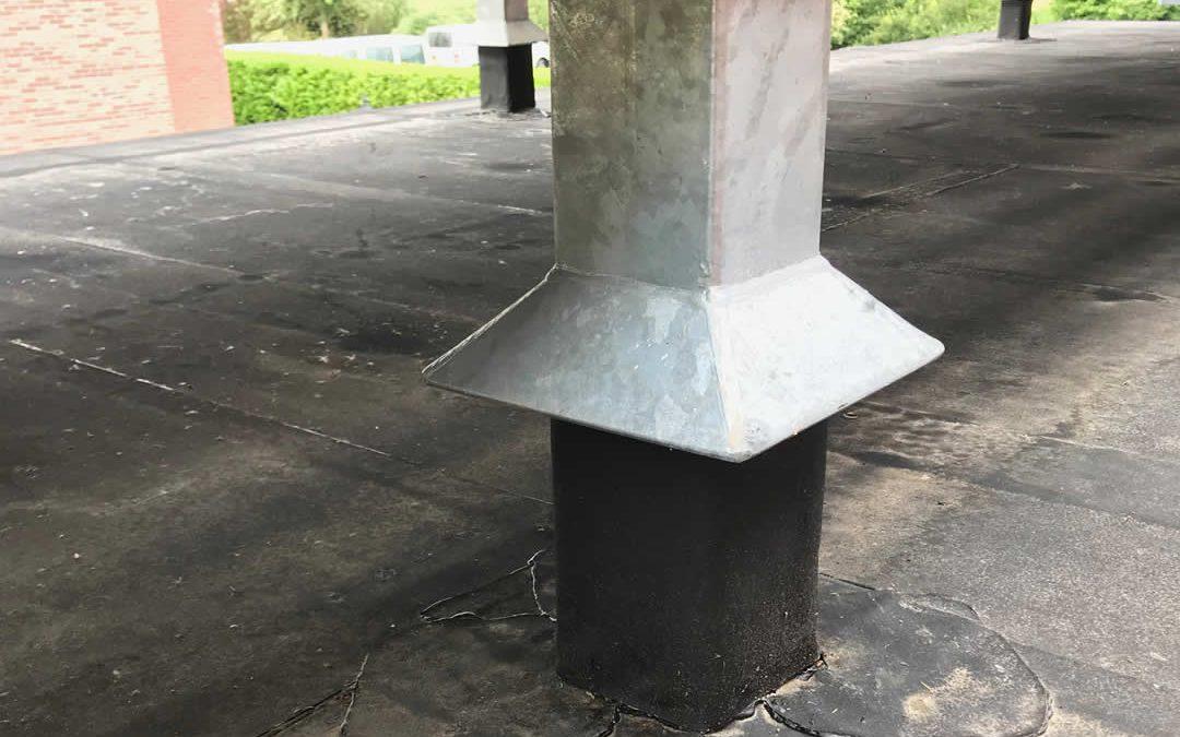 EPDM dak installatie unit