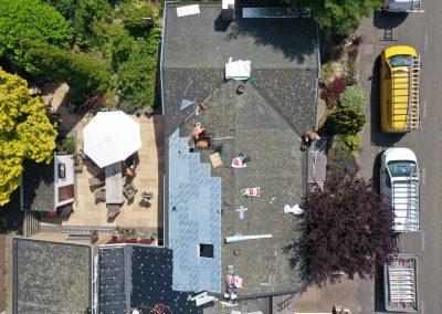 Isolatie schuin dak bungalow