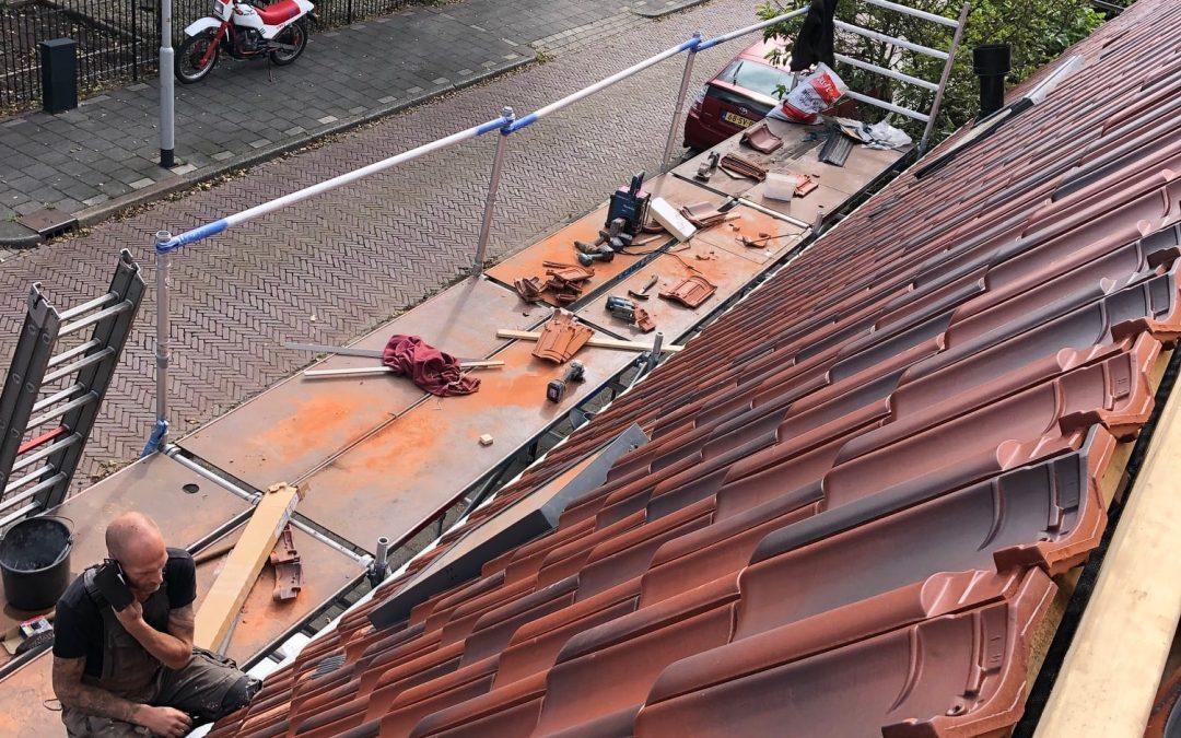 Renovatie bitumen- en dakpannendak Beverwijk
